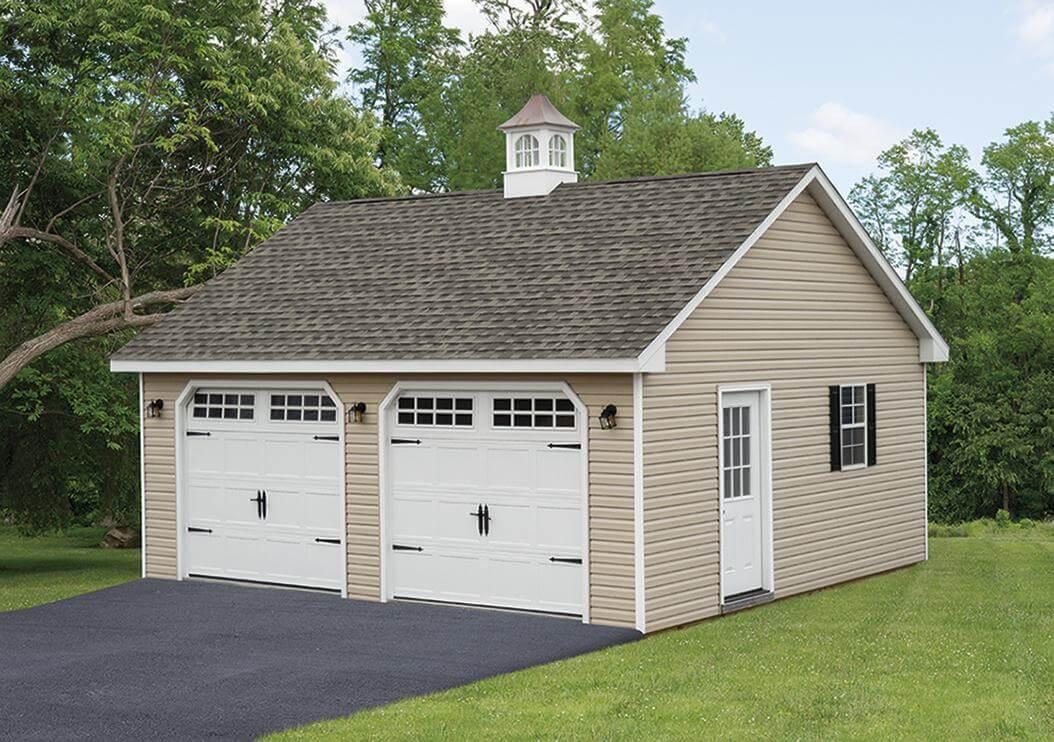 Two-Car Garage.