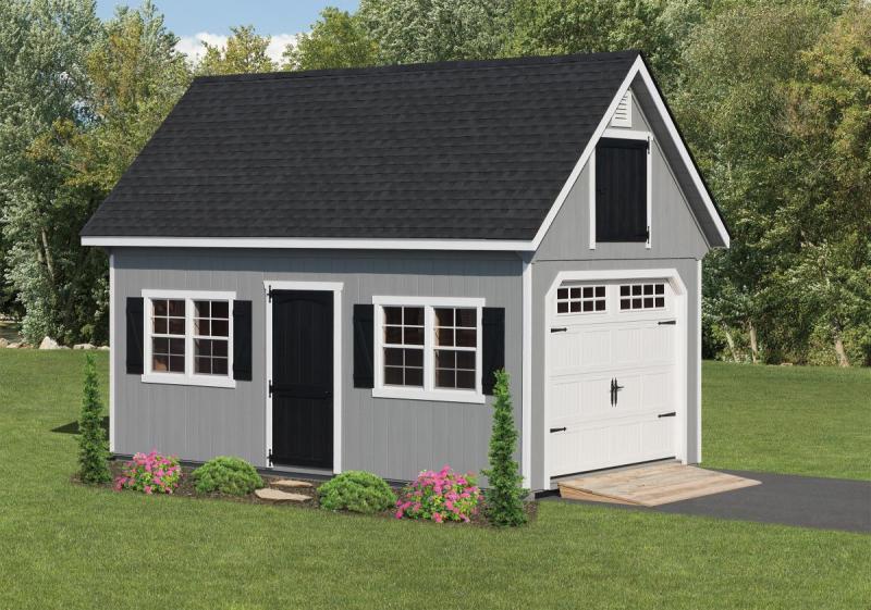 Elite Classic Garden Style Garage.