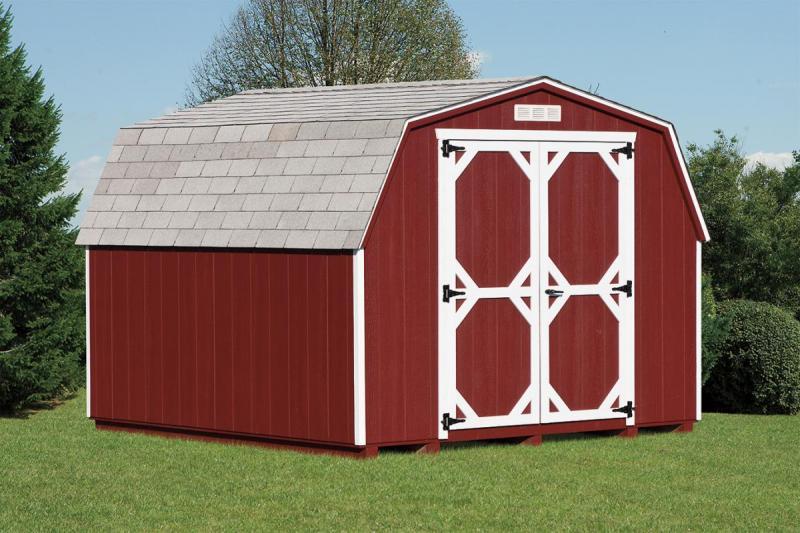 Mini Barn Style Shed.