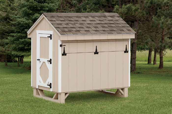 A-Frame Chicken Coop.