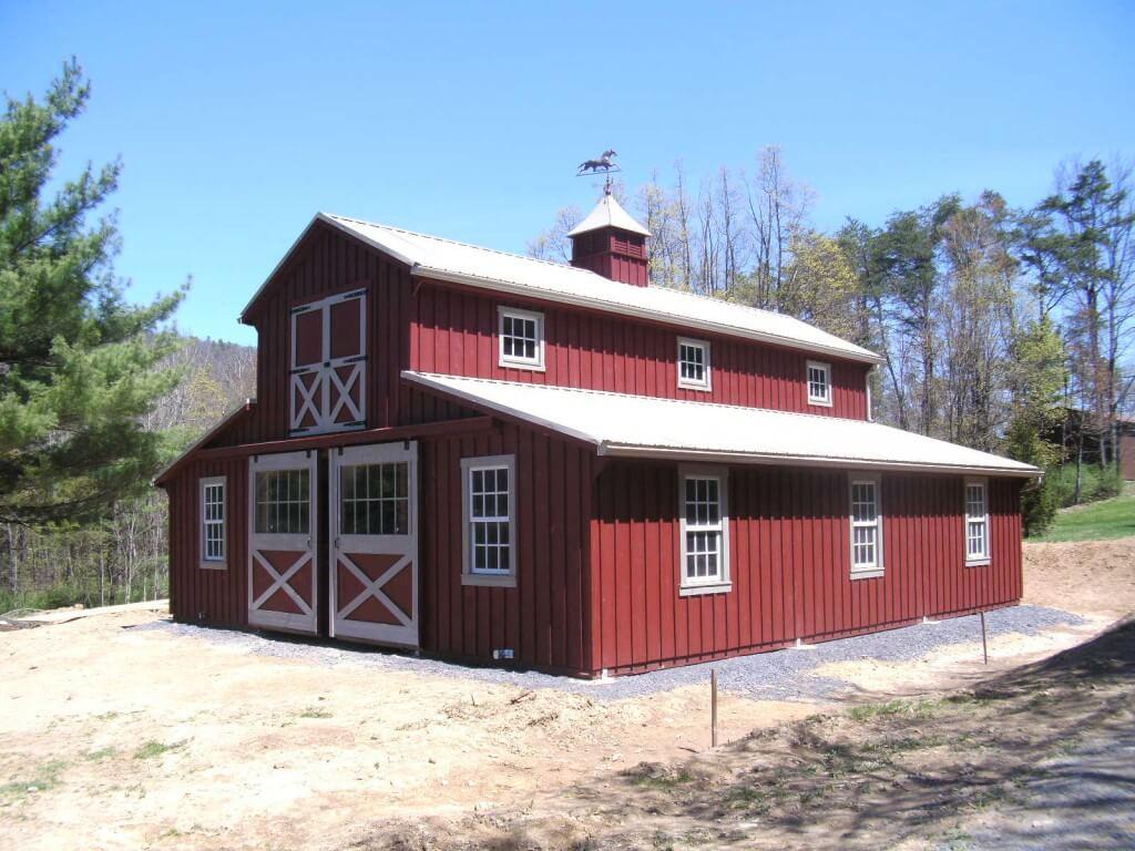 Horse Barn.