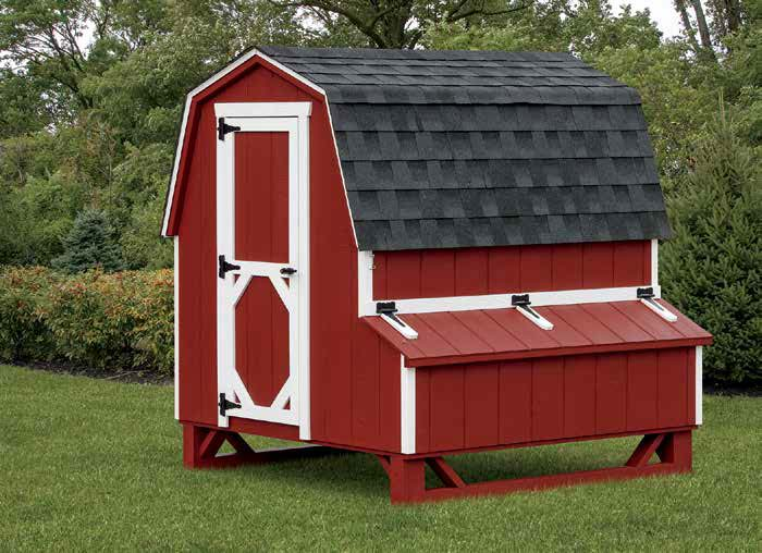 Dutch Chicken Coop.