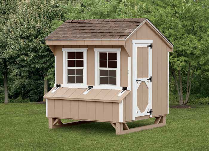 Quaker Chicken Coop.