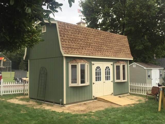 Elite Classic Garden Dutch Barn Style Garage.
