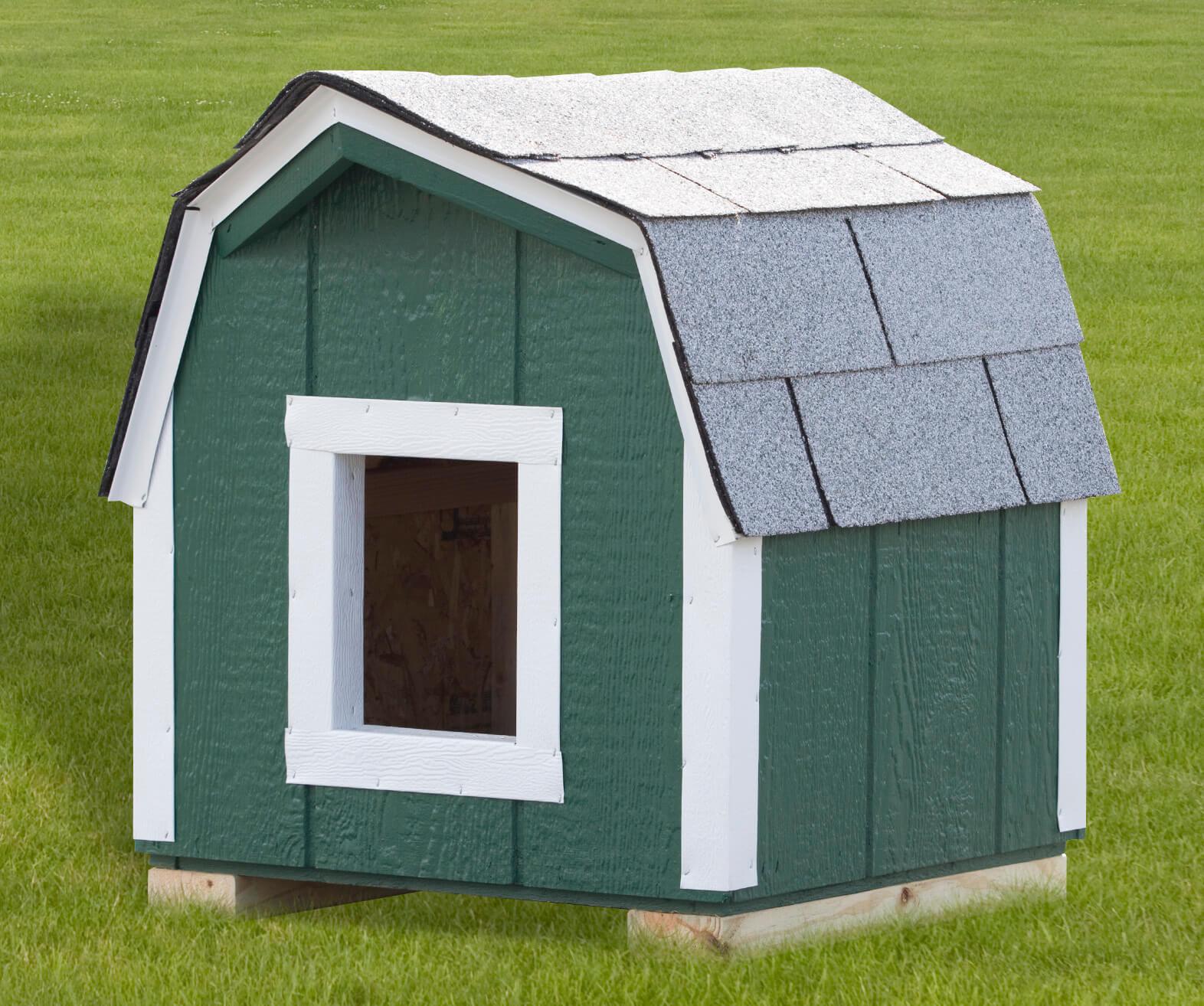 Green Dog House.