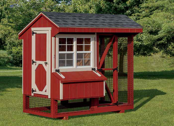Quaker Combination Chicken Coop.