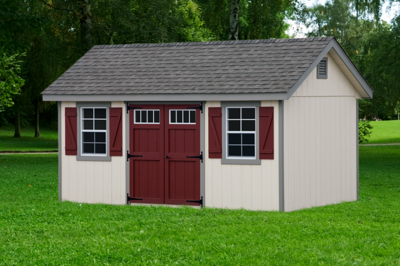 Classic Garden Cottage Style Shed.