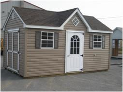 Dormer Style Shed.