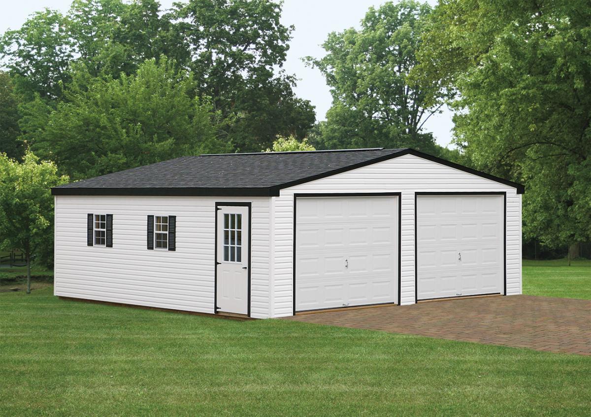 24x24 Double Wide Garage