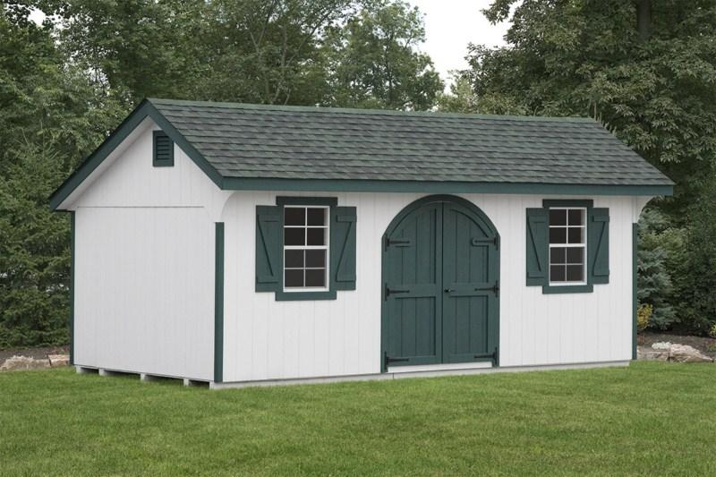 Quaker style shed glick structures for Quaker barn home designs