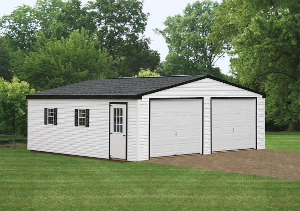 24 39 X24 39 Double Wide Garage Storage Sheds Chester
