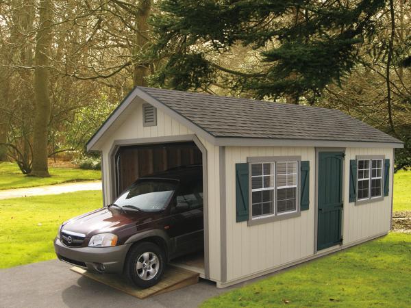 12'x20' Classic Garden Garage