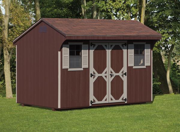 8'x12' Quaker shed