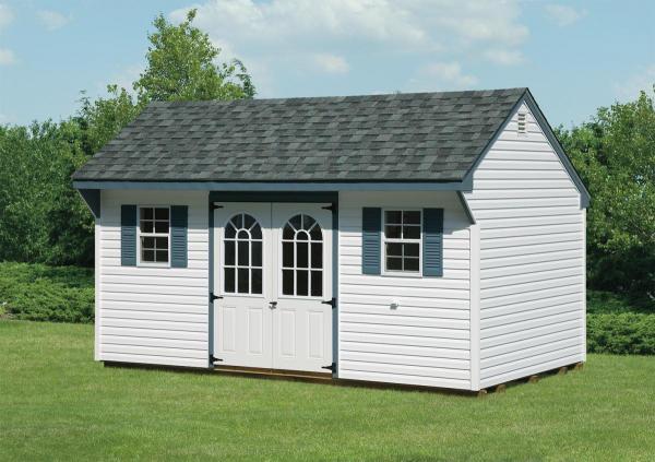10'x16' Quaker shed