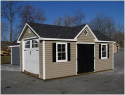 12 x 24 Classic Garden Dormer Garage