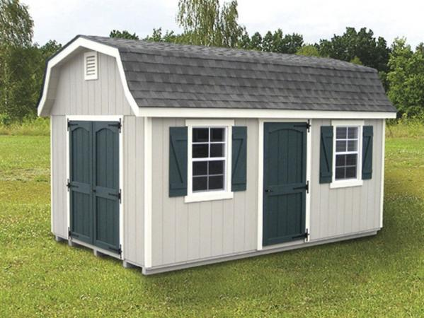 10 x 14 dutch barn storage sheds chester lancaster county for Dutch style barn