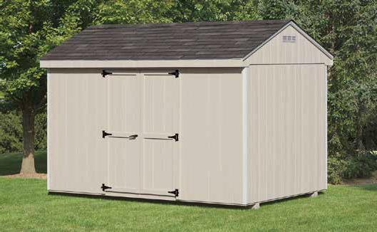8'x12' Economy Cottage Shed