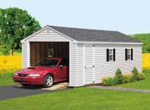 12'x24' Cottage 1-Car Garage