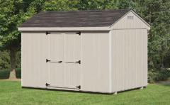 8'x12' Economy Cottage Shed