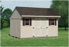 10x14 Quaker Style Shed