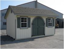 10x14 Classic Garden Quaker shed