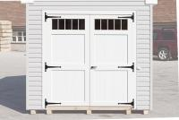Double Doors with Transom Windows