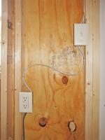 shed Wired for Electricity