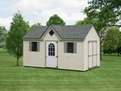 victorian dormer shed